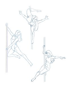 Pole Dancing Art Reference 29 Ideas For 2019 Figure Drawing Reference, Drawing Reference Poses, Dancing Drawings, Sketch Poses, Poses References, Drawing Expressions, Art Drawings Sketches Simple, Art Poses, Drawing Base