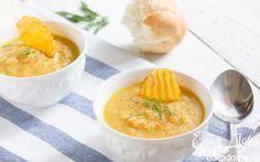 Суп из печеного картофеля    Кулинарные рецепты от «Едим дома!»
