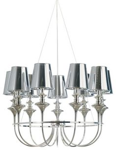 Getty Pendant Lamp contemporary pendant lighting....a beautiful chandelier, very different
