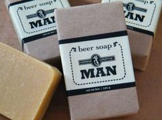 Man - Beer Soap