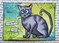 MadeByCHook: Cat ATC's