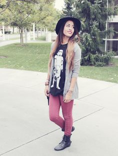 Fall Outfit // Stormtrooper Shirt