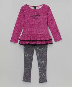 Product Code: CKJX-00013 Item Description:Fuchsia Ruffle Top and Floral-Printed Leggings紫紅色有縐上衣&花花貼身褲 Size:4T(96.5-101.6cm) Price:HK$355 Whatsapp :(+852) 6924-3068 http://www.facebook.com/BeesyTots