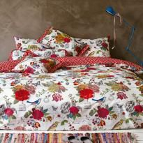 ver detalhes de Capa de Edredom (Duvet) Solteiro King 400 Fios Flowers - Pip Studio