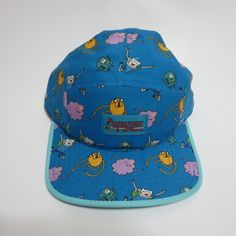 7a6ae4c7b0f Adventure Time Jake and Finn Cartoon Network Five Panel Blue Hat
