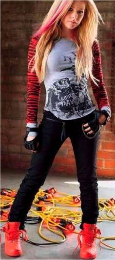 Avril Lavigne's Abbie Dawn