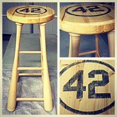 Superbe Baseball Bat Stool By BaseballBatStoolCo On Etsy, $199.00