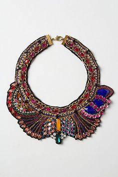 collar necklace - Anthropologie