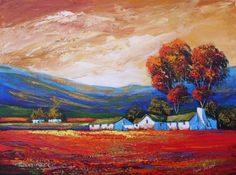 South African Contemporary and Upcoming Artist & Old Masters Art Gallery. Landscape Art, Landscape Paintings, Landscapes, African Paintings, Upcoming Artists, South African Artists, Africa Art, Acrylic Painting Techniques, Art Pictures