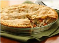 Homemade chicken pot pie (she says this is a simple recipe . . . we'll see!) via How to: Simplify.