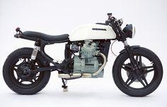 1980 Honda El Numero Uno by Clockwork Motorcycles Cx500 Cafe Racer, Honda Scrambler, Motos Honda, Honda Cx500, Honda Bikes, Cafe Racer Bikes, Honda Motorcycles, Custom Motorcycles, Cafe Racers