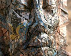 Impressionantes Máscaras de Origami