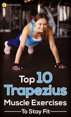 Let's begin with the top 10 Trapezius muscle exercises that will make you lean, fit, and super hot!  #exercises