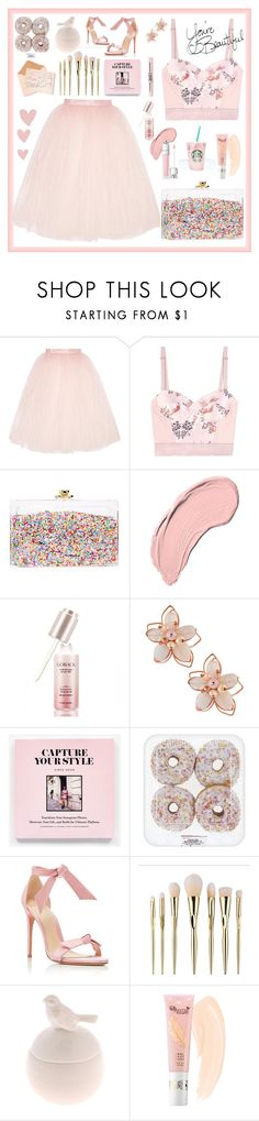 """Pretty pink"" by imurzilkina ❤ liked on Polyvore featuring Ballet Beautiful, STELLA McCARTNEY, Ashlyn'd, NYX, Etude House, NAKAMOL and Alexandre Birman"