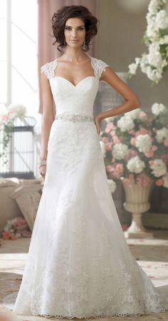 awesome Without the sleeves – vestido de novia, bridal dress