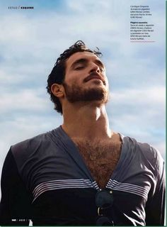 Low angle up 2 - Justice Joslin for Esquire Mexico August 2013 AWK! He's so handsome! Hairy Men, Bearded Men, Hairy Hunks, Moustaches, Justice Joslin, Hairy Chest, Hair And Beard Styles, Good Looking Men, Gorgeous Men