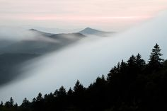 Fog On The Mountain Photograph by Bill Swindaman