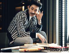 Eun Hyuk - Cosmopolitan Magazine May Issue '14