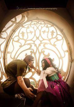 Hunchback of Notre Dame by NattoKan.deviantart.com on @deviantART - Quasimodo and Esmeralda cosplay, uploaded by the former