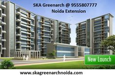 SKA Greenarch at sector 16, Greater Noida West offers 2 BHK and 3 BHK flats with size starting from 1000 sq.ft. to 1600 sq.ft.