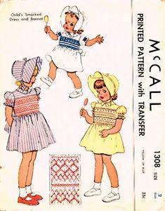 Vintage Patterns For Little Girls.