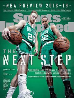 2018 NBA Sports Illustrated Boston Celtics Gordon Hayward Al Horford No Label Boston Celtics, Sports Illustrated Nba, Al Horford, New York Basketball, Gordon Hayward, Sports Page, Jayson Tatum, Sports Fanatics
