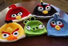 angry birds red hat crochet pattern - Google Search