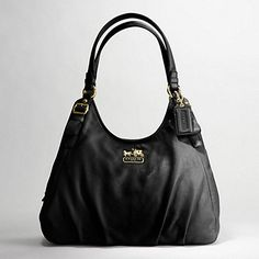 MADISON LEATHER MAGGIE SHOULDER BAG - I want!!