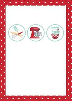 Modelo convite chá de cozinha