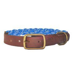 Nautical Dog Collar. $45.00, via Etsy.