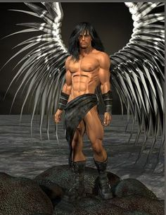 Sexy muscle angel
