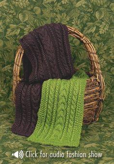 Great scarf pattern.