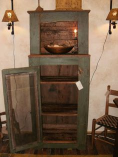 Primitive Souls: Gallery  love this cupboard