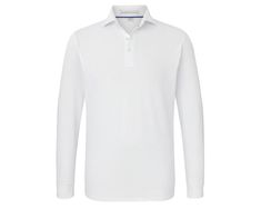 The Abbott Shirt: White - Holderness & Bourne Cutaway Collar, Collar Stays, Contrast Collar, Golf Shirts, Long Sleeve Shirts, Style, Fashion, Pique, Swag