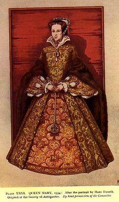 Queen Mary I Queen Mary, Vestidos, Historia, Vaate