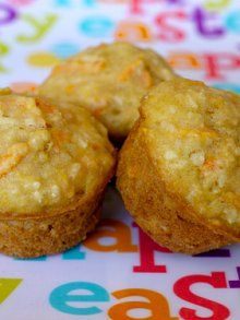 Carrot Apple Coconut Muffins | Weelicious