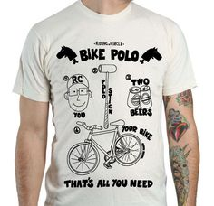 that's all you need for bike polo