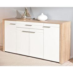 buffet conforama achat buffet pas cher le buffet 2 portes 3 tiroirs sambala coloris blanc. Black Bedroom Furniture Sets. Home Design Ideas