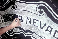 Sierra Nevada Chalk Installation