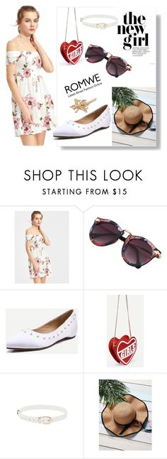 """""""#ROMWE"""" by kristina779 ❤ liked on Polyvore featuring romwe, MyStyle, polyvorefashion and polylove"""
