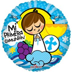 Niño primera comunión Communion Centerpieces, Diy Angels, First Communion Invitations, Origami And Quilling, Catholic Crafts, Sunday School Crafts, First Holy Communion, Anime Figures, Copics