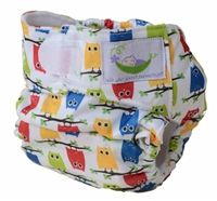 """Sweet Pea Newborn All-in-One Diaper - easy to use, economical, great for grandparents and new parents. has a """"tunnel"""" that you can stuff extra absorbency in for nighttime New Parents, Cloth Diapers, Baby Wearing, All In One, Diaper Bag, Grandparents, Bags, Sweet, Grandmothers"""