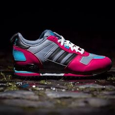 """Trendy Women's Sneakers 2018 : adidas Originals ZX 700 W """"Dragonfruit"""" - Fashion Inspire Adidas Zx 700, Adidas Originals, Kanye West, Trendy Womens Sneakers, Kim Kardashian, Dorothy Shoes, Sneaker Store, Adidas Sneakers, Shoes Sneakers"""