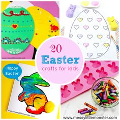 Easter crafts and ac