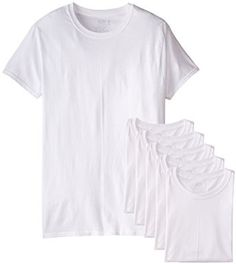 Price:$12.34 Fruit of the Loom Men's 6-Pack Stay Tucked Crew T-Shirt