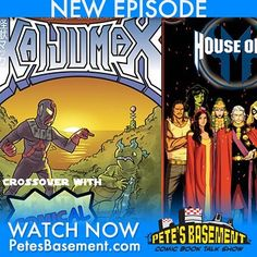 New episode available right now on petesbasement.com! Justin from Comical Podcast dials in to the Pete Phone for our side of the comic book podcast crossover. Ramon took one for the team and watched Fantastic Four. He shares his thoughts. We talk about all the D23Expo news. Pete's guilty pleasure- Worlds United concludes. House of M is back. Americatown rubs Ramon the wrong way. Pete has vowed to contract the Beauty even if he has to have have unprotected sex with every stranger he meets for…