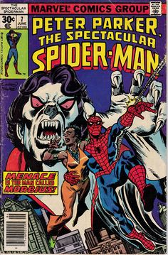Peter Parker: The Spectacular Spider Man 7 June 1977 Issue