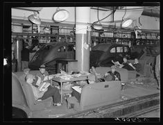 Sitdown strikers in the Fisher body plant factory number three. Flint, Michigan. 1937 Jan.-Feb. Library of Congress.