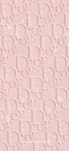 Dior Wallpaper Pink