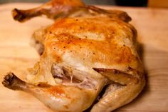 Easiest Roast Chicken Ever | The Domestic Man tried this tonight - very moist and flavorful will definitely be making this recipe again